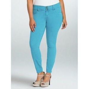Torrid Denim Jeans 14 Plus Size Jeggings Skinny